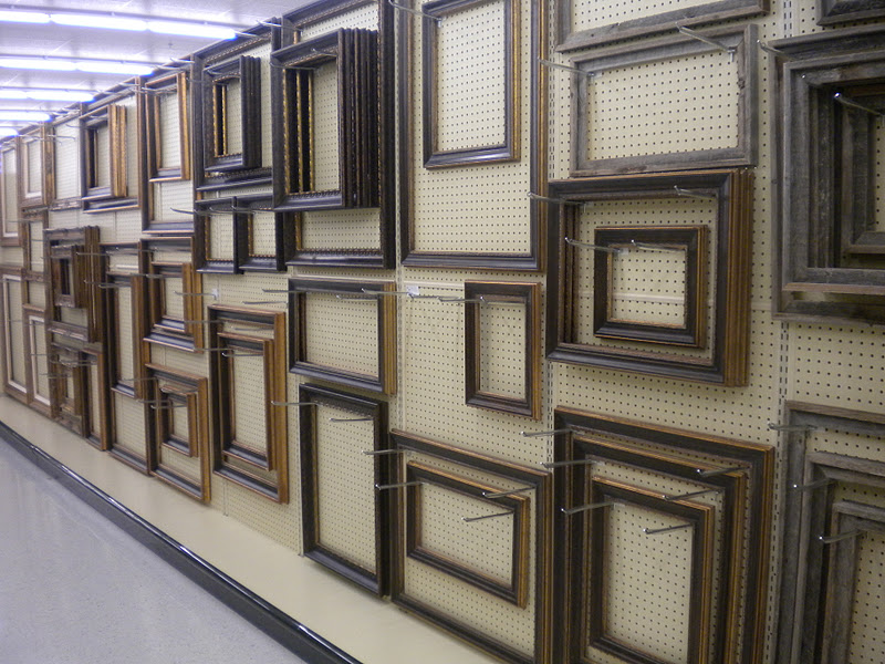 Hobby Lobby Framing Department | Shapeyourminds.com