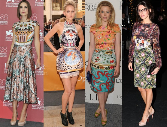 Celebs wearing Mary Katrantzou