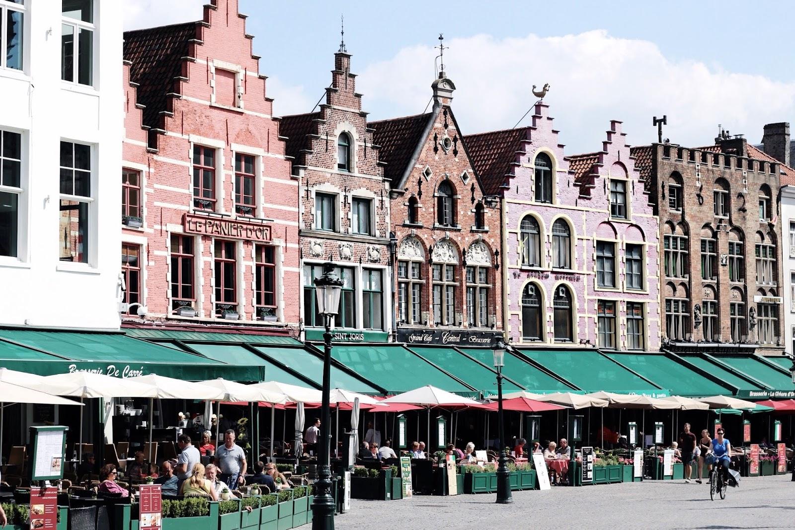 Chocolate Box Houses in Belgium