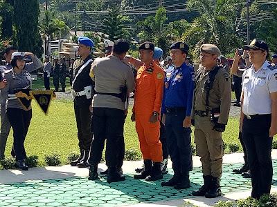 Polres Minsel Gelar Pasukan Pengamanan Idul Fitri 1440 H