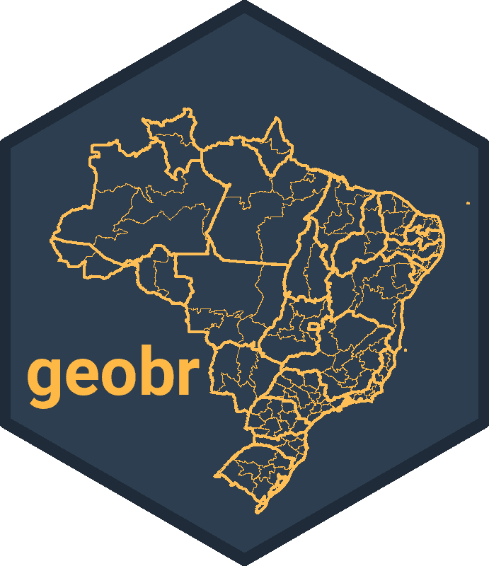 Urban Demographics: geobr: shapefiles and official spatial