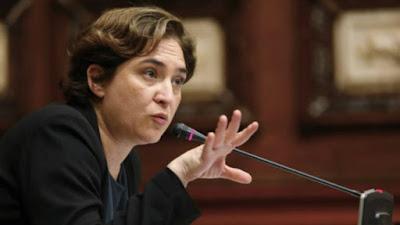 Ada Colau, Barcelona, DNI, inmigrantes, inmigración, podemos, comunismo