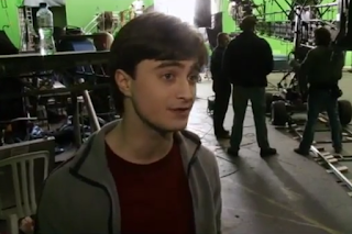 Archive video: Deathly Hallows part 1: Harry plays George (2011)