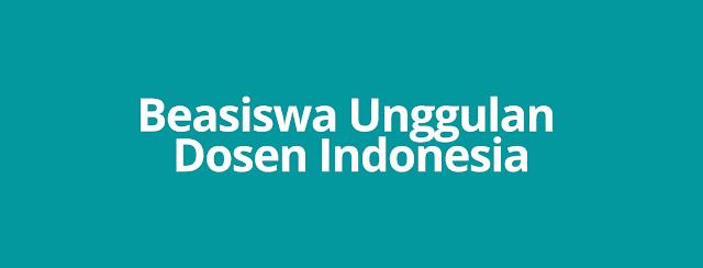 Beasiswa Unggulan Dosen Indonesia (BUDI)