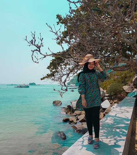 Eksotisme Pulau Salah Namo Batubara Sumatera Utara