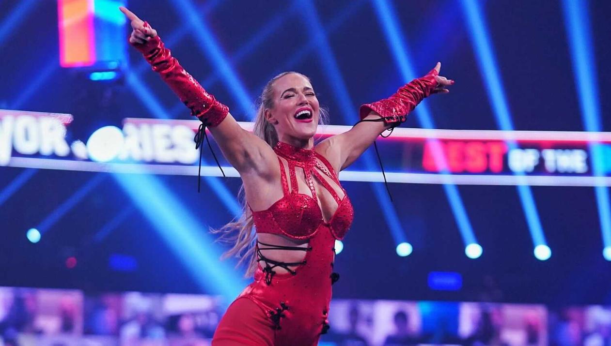 """Lana garante vitória do Team RAW sem """"participar"""" do combate e amplia vantagem de sua equipe"""