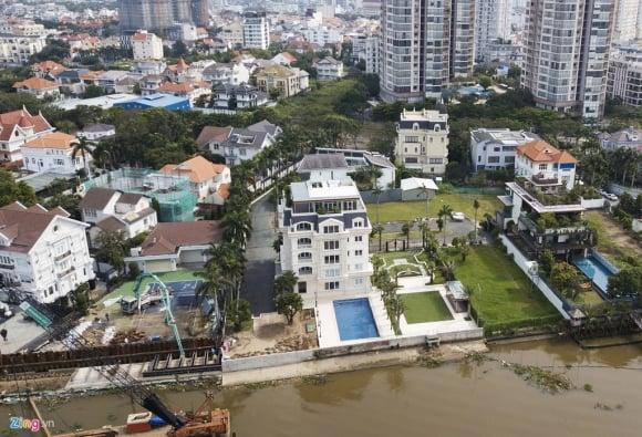 Biệt thự ở Thảo Điền bịt kín lối ra bờ sông Sài Gòn ảnh 12