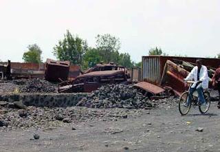 Village in DRC destroyed by Nyamuragira volcano lava flow