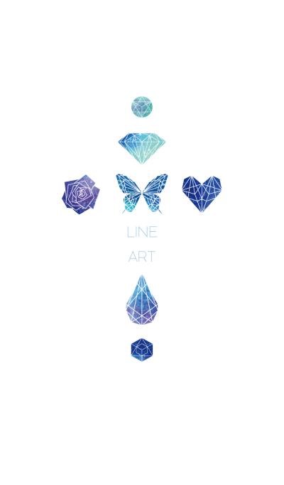 Cosmic Line Art