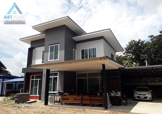 บ้านสองชั้นราคา 1.8 ล้านบาท