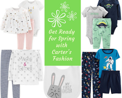 Get Ready for Spring with Carter's Fashion