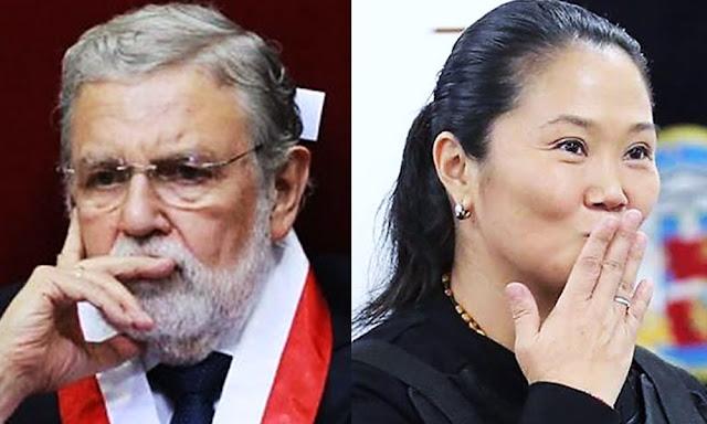 Ernesto Blume, Keiko Fujimori