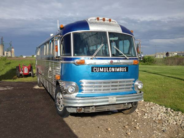 1947 ACF Brill Old Bus Conversion