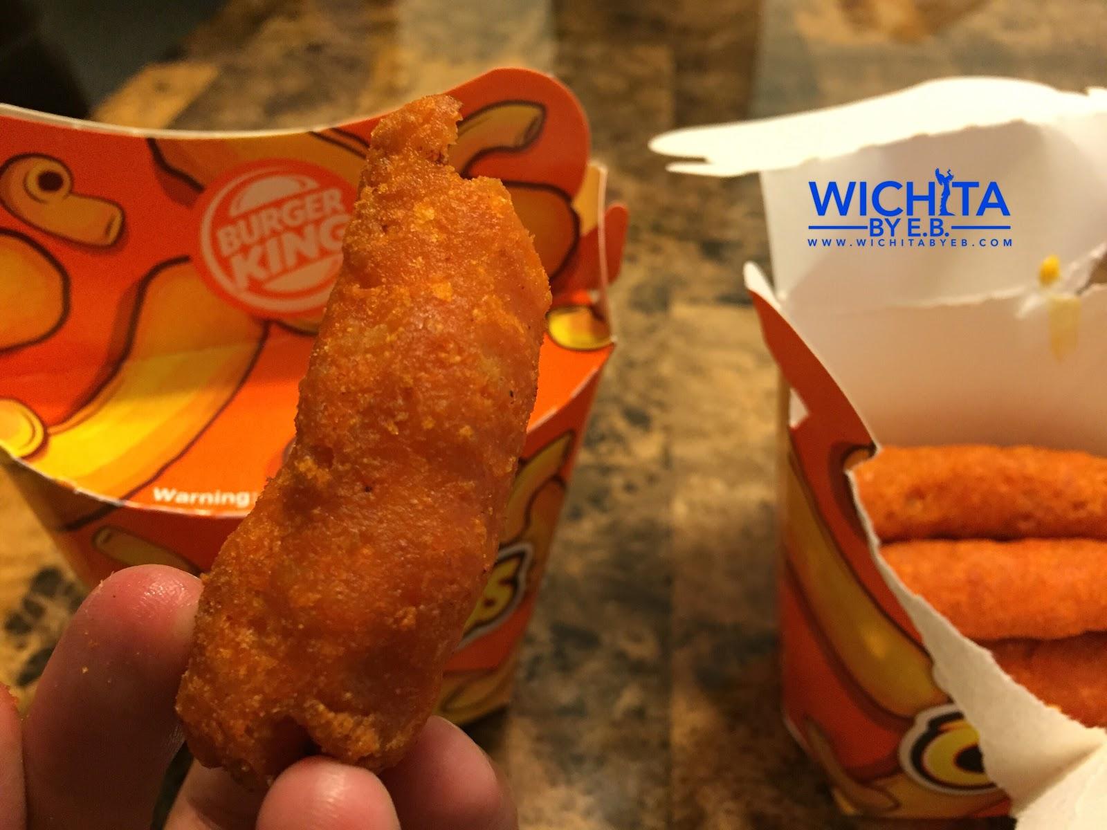 Burger Kings Mac N Cheetos Review Wichita By EB