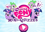 My Little Pony Mini Quizzes juego