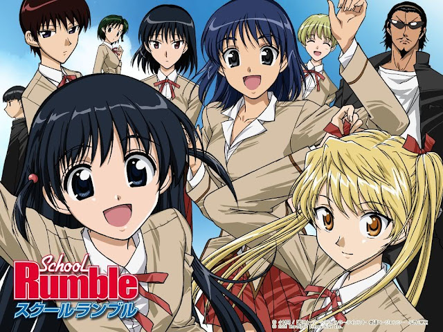 School Rumble Ni Gakki (26/26) + OVAS (60MB) (HDL) (Sub Español) (Mega)