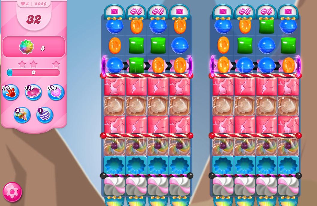 Candy Crush Saga level 8046