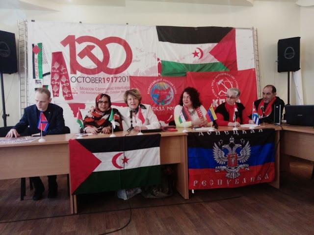 انشطة سياسية ودبلوماسية للتعريف بكفاح الشعب الصحراوي من اجل الحرية والاستقلال على الساحة الروسية