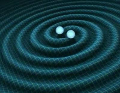 Fusion de dos agujeros negros