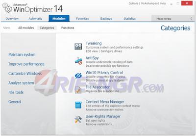Ashampoo WinOptimizer 15.00.03 Full Version