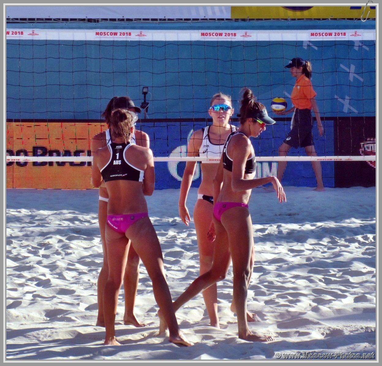 Taliqua Clancy and Mariafe Artacho del Solar - Australian Team at FIVB Beach Volleyball World Tour in Moscow 2018