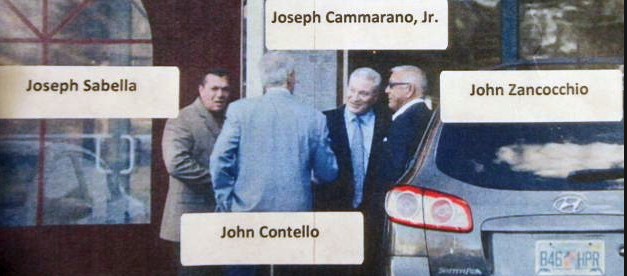 Joseph Cammarano Jr. and John (Porky) Zancocchio, acting boss and consiglieri other Bonanno crime family, respectively