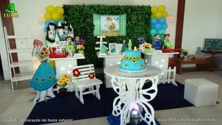 Decoração de aniversário Frozen - Aniversário da Anna - Febre Congelante - Festa infantil - Barra  - RJ
