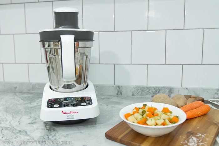 Cómo comer sano y ahorrar tiempo con el robot de cocina Volupta de Moulinex