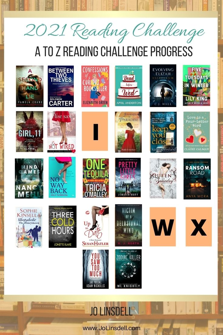 The A to Z Reading Challenge August 2021 update