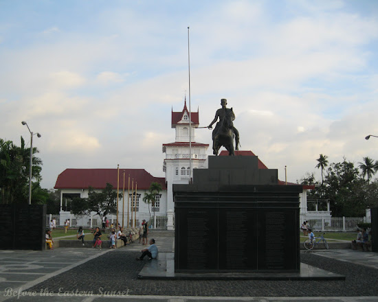 Aguinaldo Shrine - Emilio Aguinaldo on horseback