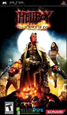 Hellboy The Science of Evil PSP Game ISO CSO