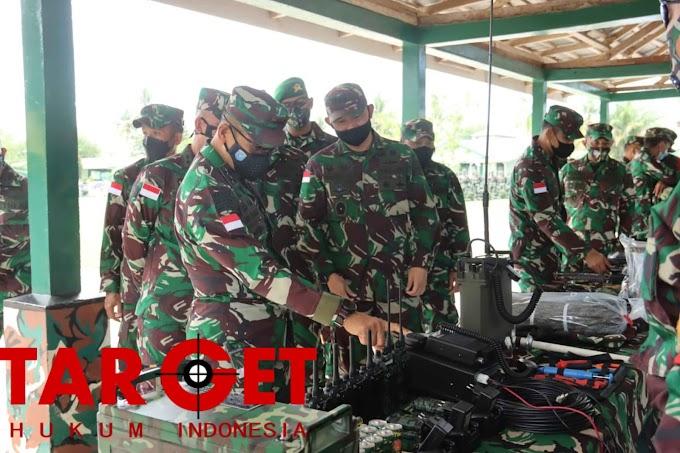 Pangdam XII Tanjungpura Cek Kesiapan Yonif Mekanis 643/Wns Jelang Tugas Operasi