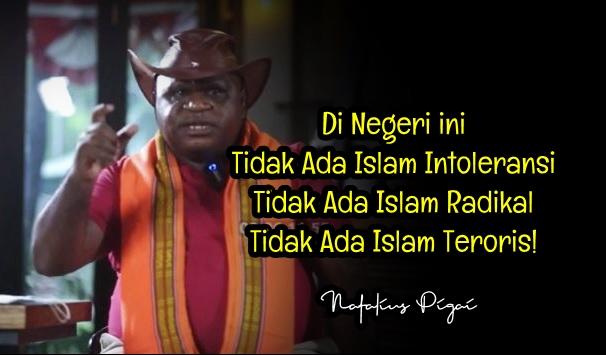 Natalius: Di Negeri ini Tidak Ada Islam Intoleransi, Tidak Ada Islam Radikal, Tidak Ada Islam Teroris!