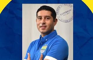 Esteban Vizcarra Tetap di Persib Bandung