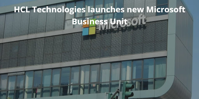 HCL Technologies launches new Microsoft Business Unit