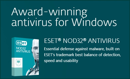 eset nod32 antivirus trial
