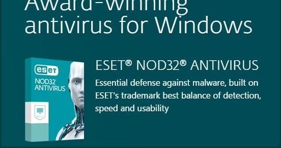 Eset Nod32 Antivirus Free Download 90 Days Trial for Windows 7 8 10