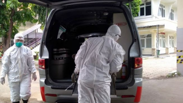 Diduga Suspect Corona Meninggal di Jagakarsa, Warga Diminta Jaga Jarak