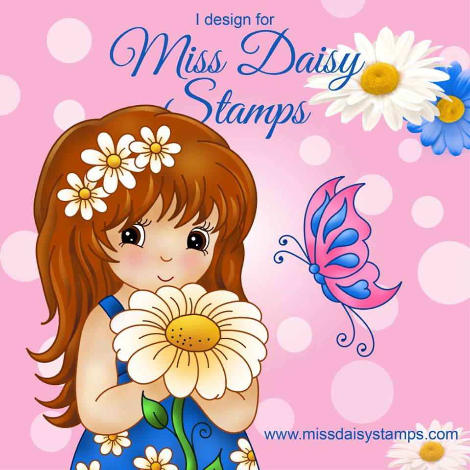 Miss Daisy Stamps Design Team Member