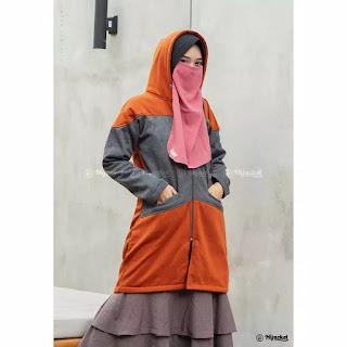 Pengembangan TERBARU dari model Hijacket Basic yang BEST SELLER!    Didesain khusus untuk hijabers seperti kamu yang ingin selalu tampil syar'i dengan tampilan FRESH LOOK, SIMPLE dan MODIS.