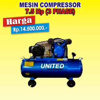 Compressor United 7.5 Hp 3Phase