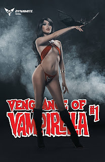 Cover E of Vengeance of Vampirella #1 is a cosplay variant