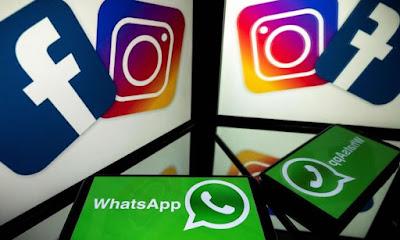 فيسبوك وانستغرام وواتسآب