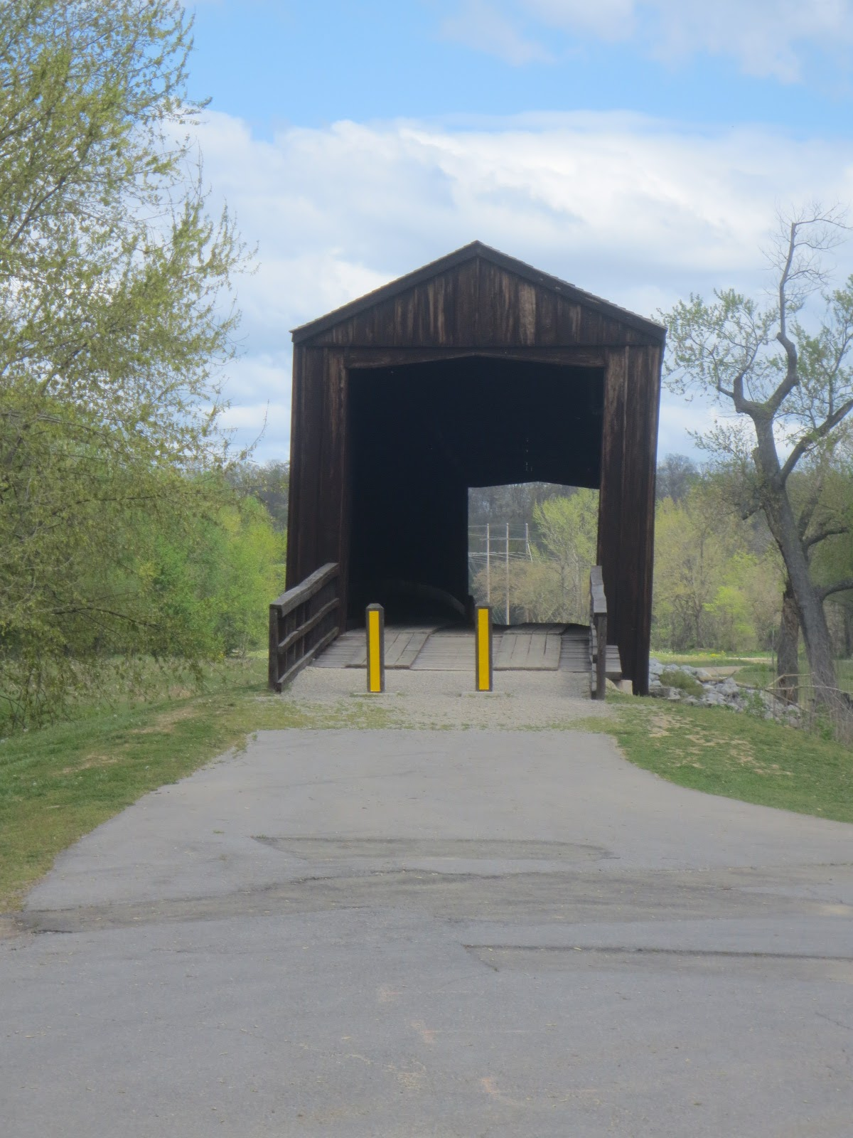 beyond the portico: THE LAST COVERED BRIDGE