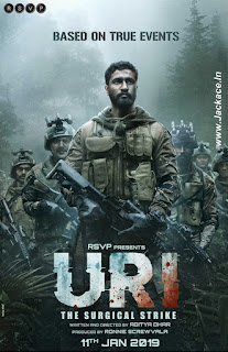 Uri: The Surgical Strike First Look Poster 1