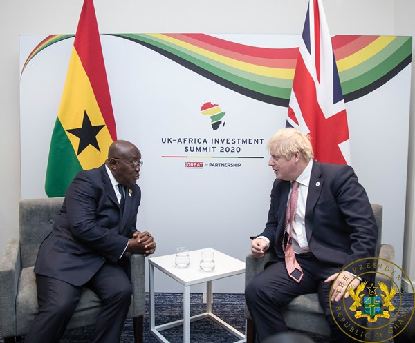 Ghana, United Kingdom Pledge To Stregthen Ties Of Co-Operation
