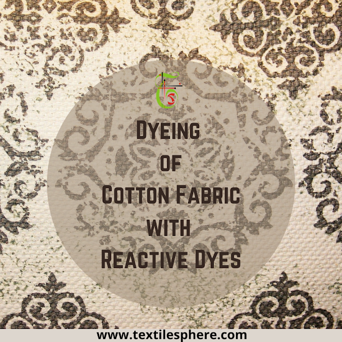 Dyeing of Cotton Fabric with Reactive Dyes || Cotton Dyeing || Cotton Fabric || Reactive Dyes