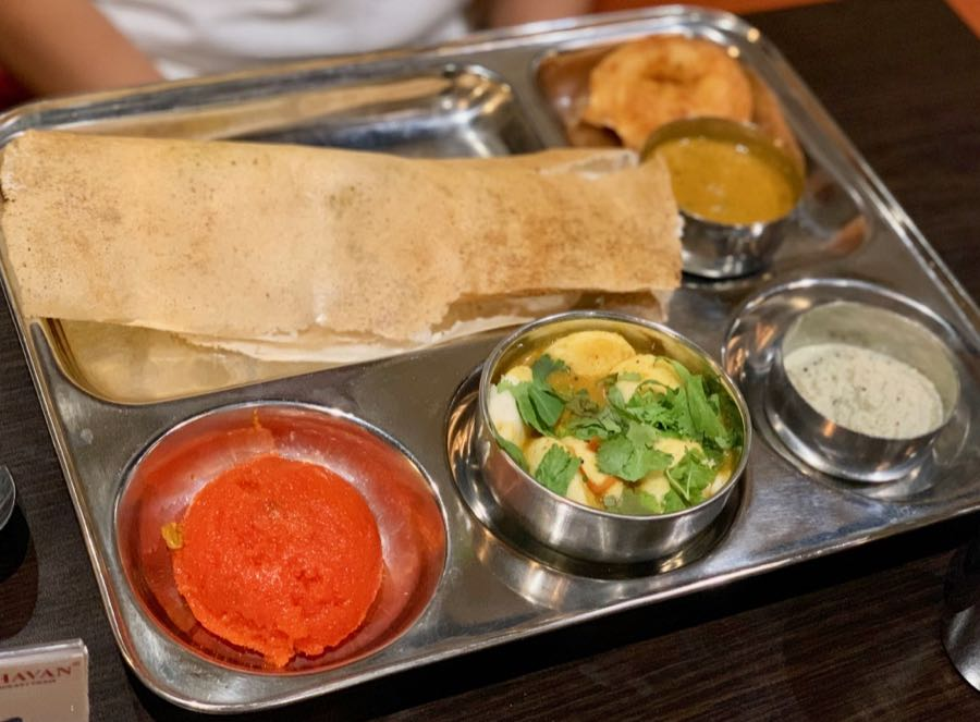 Saravanaa Bhavan Mini Tiffin