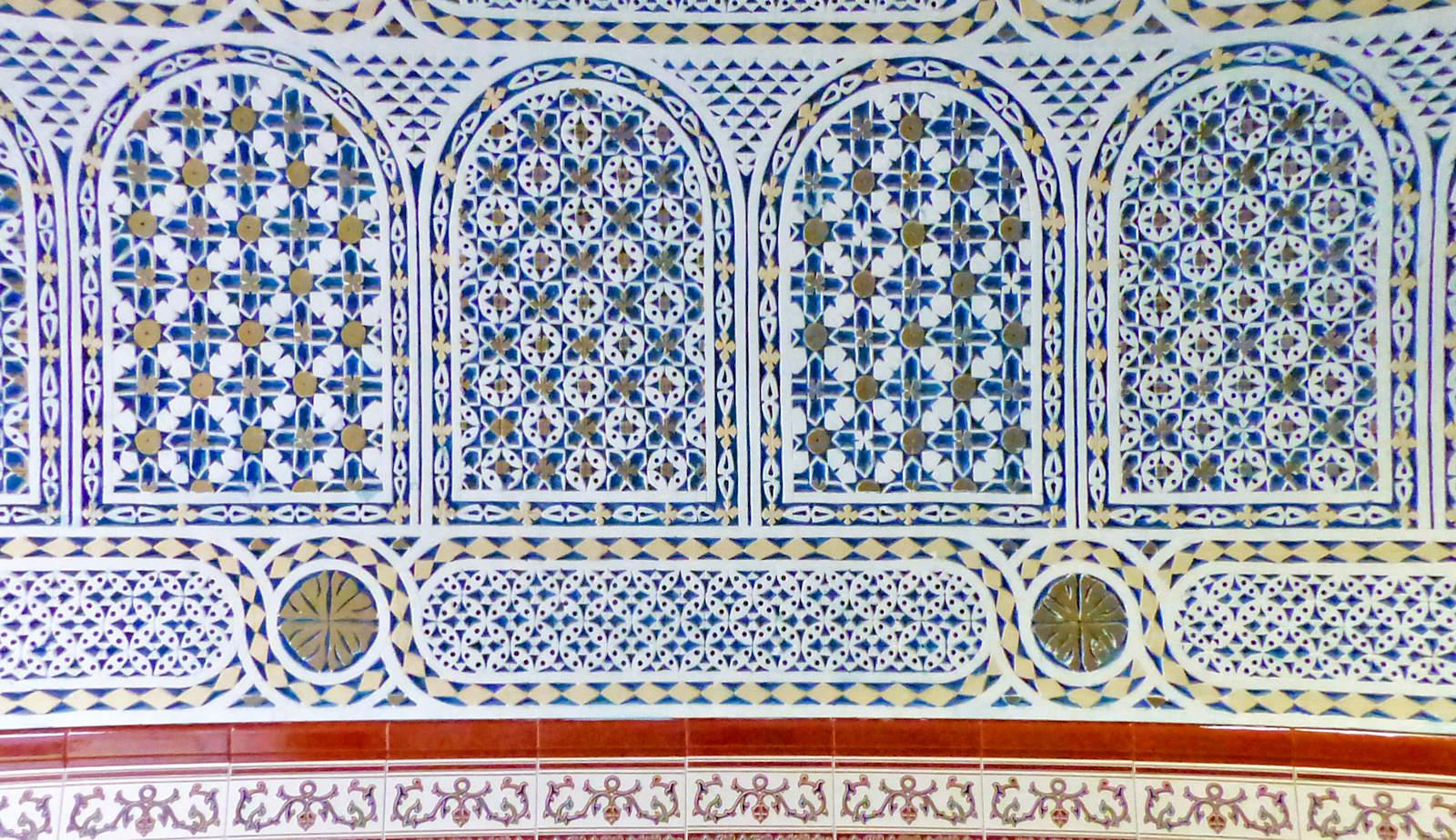 Mosquée Assalam Tourcoing France - Décorations