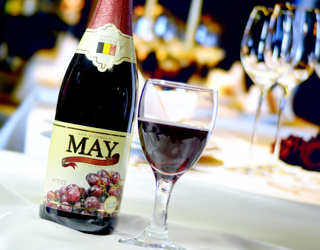 CELEBRATE VALENTINE'S WITH MAY SPARKLING RED JUICE
